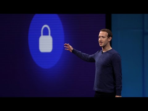 Facebook CEO Mark Zuckerberg speaks at F8 conference