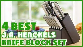 J.A. Henckels Knife Block Sets: Best J.A. Henckels Knife Block Set 2019(Buying Guide)