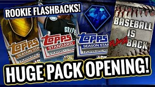 "DAY 1 PACK OPENING!! BASEBALL IS ""FLASH""BACK PACKS! MLB The Show 17 Diamond Dynasty"