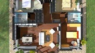 casa planos plano con grande casas 3d americanas apartamentos dimensiones