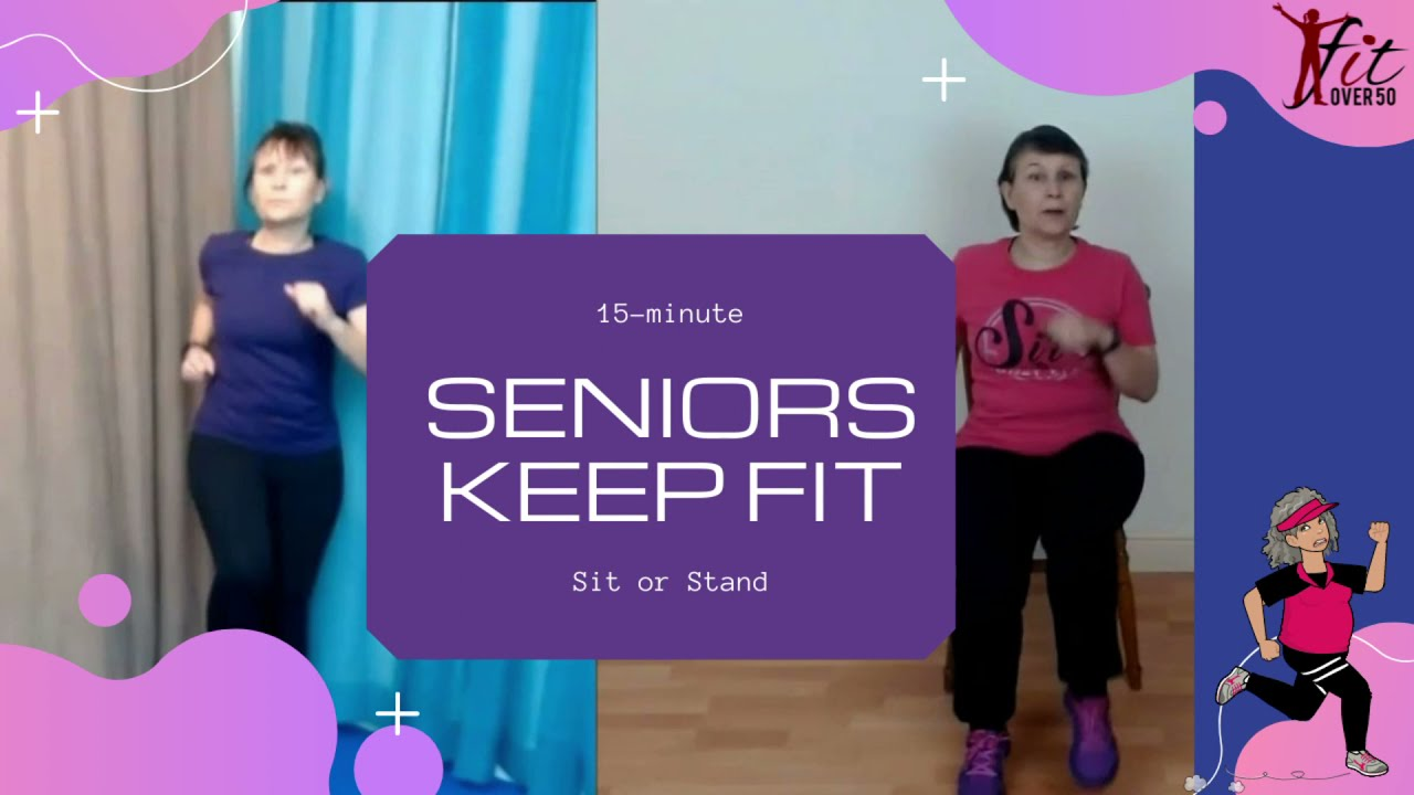 15-minute Gentle Aerobic workout