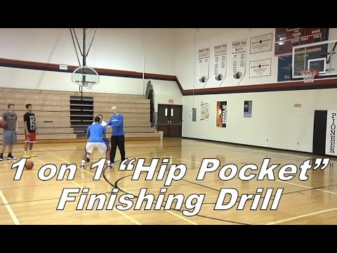 "1 on 1 ""Hip Pocket"" Finishing Drill with Jim Huber"