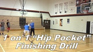 "Video 1 on 1 ""Hip Pocket"" Finishing Drill with Jim Huber download MP3, 3GP, MP4, WEBM, AVI, FLV Juni 2018"