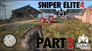 Sniper Elite 4 Gameplay Walkthrough Part 3 - San Celini Island: Destroy Cameras