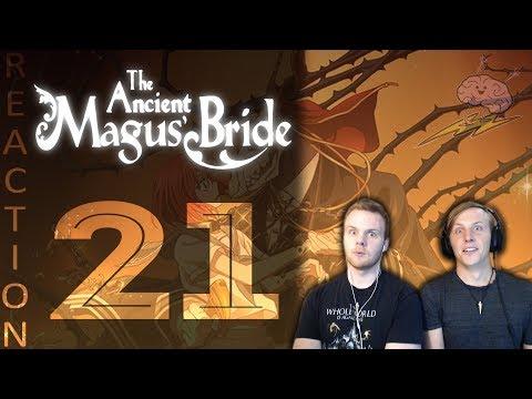 SOS Bros React - Ancient Magus Bride Episode 21 - Betrayal of Trust!!