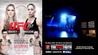 A Chip On Our Shoulders - Rousey and Carmouche on the difference between Men and Women in MMA