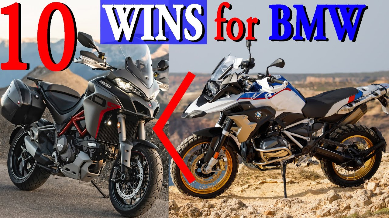 Why BMW R 1250 GS may be a better choice than Ducati Multistrada 1260