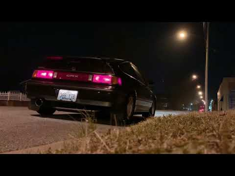 1988 Honda CRX Si D16A6 with Greddy SP2 Catback Exhaust
