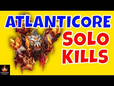 MAX DEFLECT Atlanticore Castle Clash F2P Heroes