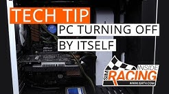 Tech Tip: PC Turning Off By Itself
