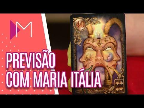Previsões com Maria Itália - Mulheres (13/09/18)