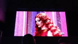 Sasha Shea lipsync NYC finale party reaction