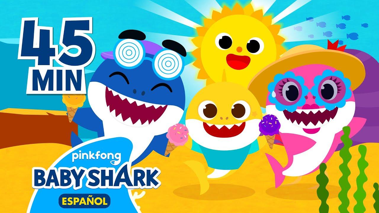 ¡Nos vamos de picnic😎🍦 con Tiburón Bebé! | Tiburón Bebé | Compilación | Baby Shark en español