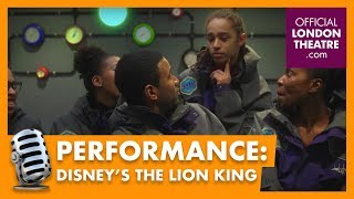 Disney's The Lion King scales the O2 Arena