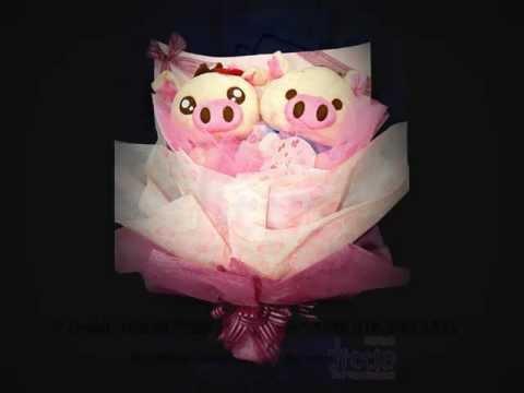 公仔花束递送服务 Selangor Florist Gift Shop Toys Flower Soft Toys Bouquet Delivery.wmv