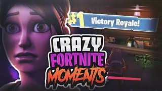 OMG I KILLED 3 SQUADS WITH 1 TRAP? AMAZING CRAZY FORTNITE BATTLE ROYAL KILL MONTAGE !!!