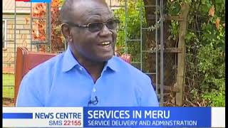 County resources, service delivery and county administration in Meru county