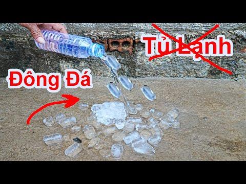 Cách Làm Đông Nước Đá MÀ Không Dùng Tủ Lạnh / Mẹo Làm Bia Sệt Không Dùng Tủ Đông. how to freeze ice