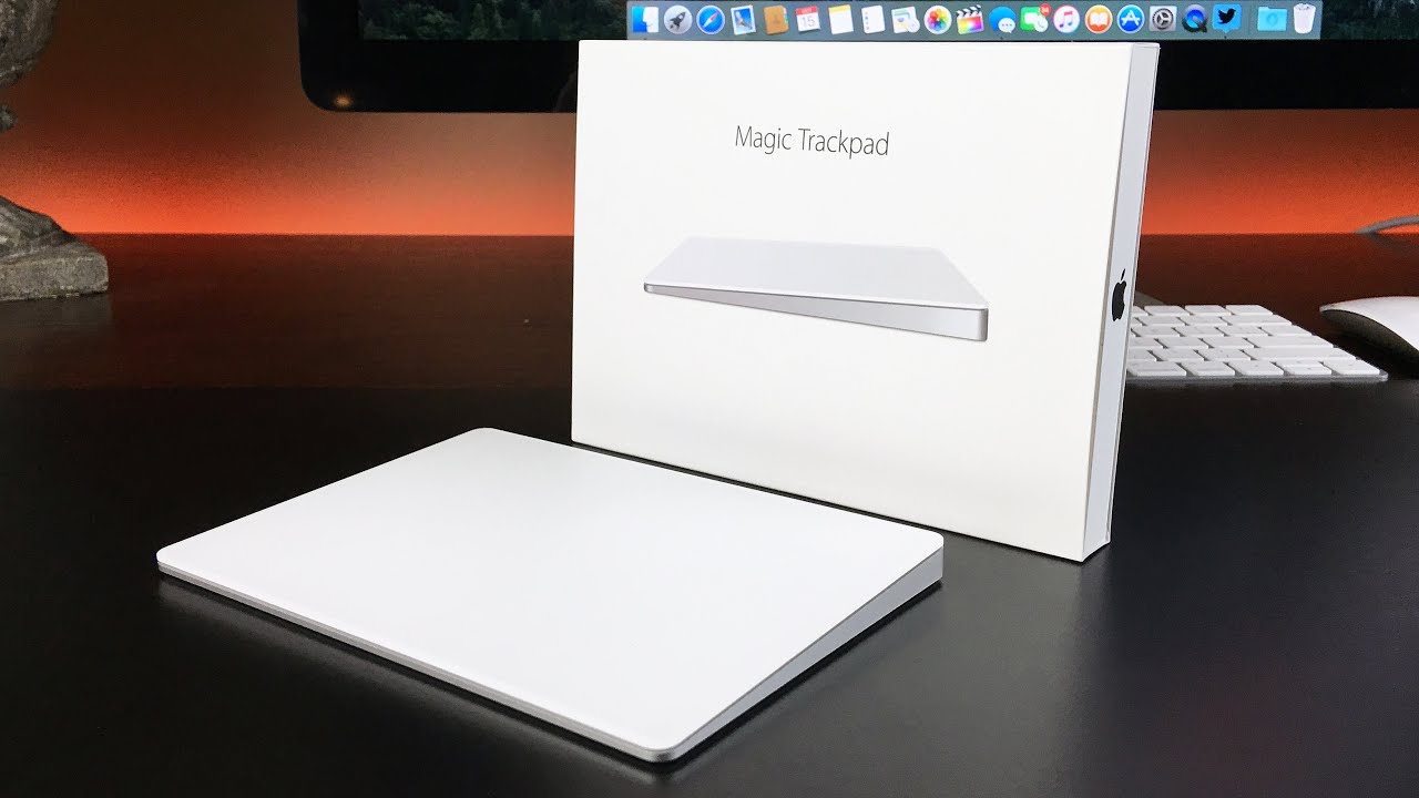 Apple Magic Trackpad 2 MJ2R2ZM//A Touch Pad Bianco