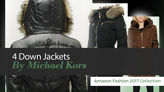 4 Down Jackets By Michael Kors Amazon Fashion 2017 Collection