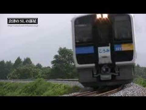 Hybrid train ハイブリッド鉄道車両 会津のSLの部屋