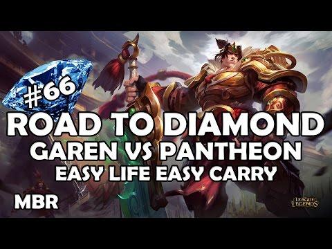 Road To Diamond #66 | Warring Kingdoms Garen Vs Pantheon | Thunderlords | Season 7