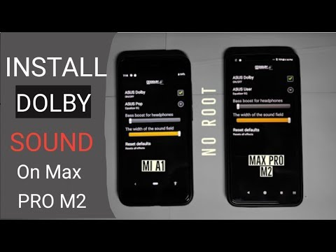 How To Install Dolby Sound In Asus Zenfone Max Pro M2 | No Root
