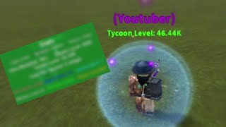 ROBLOX • My Stats Is All Shown On This Video! - Tycoon Simulator