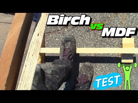 Birch vs MDF... Better Strength? Is Plywood or Fiberboard Strongest Wood For Subwoofer Boxes?