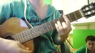 Ленинград - Мне бы в небо УРОК 🎸 школа гитары