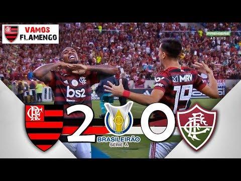 Flamengo 2 x 0 Fluminense  | Gols e Melhores Momentos 20/10/2019