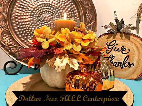 Dollar Tree Floral Centerpiece!! **Easy DIY**