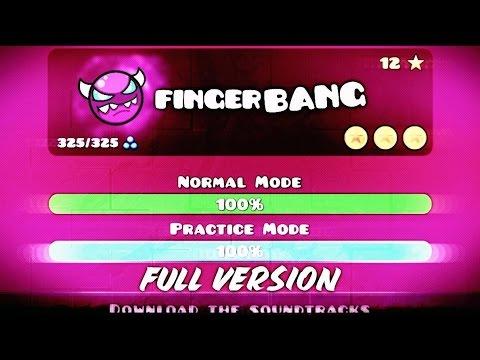 FINGERBANG (FINGERDASH FULL VERSION)!! - GEOMETRY DASH 2.1!!