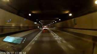 dqnうp主がスピード違反で捕まる瞬間 名古屋高速