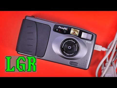 Epson PhotoPC: The 1995 Digital Camera Experience
