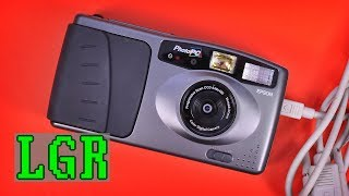 Epson PhotoPC: The 1995 Digital Camera Experience