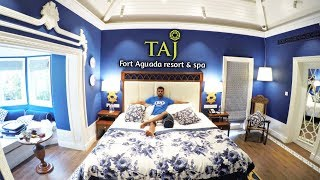 TAJ HOTEL GOA FORT AGUADA | STAYING IN THE FANCIEST HOTEL OF GOA | DAY 2 |