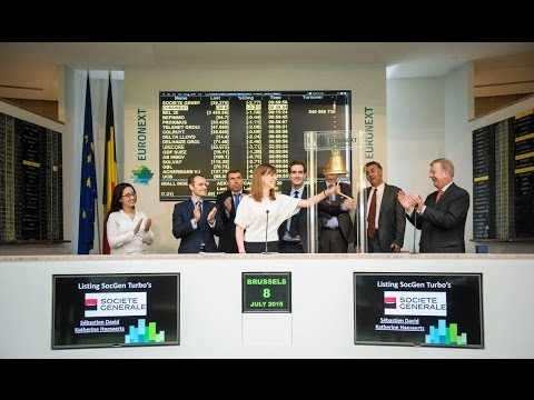Launch first turbos on Euronext Brussels by Société Générale
