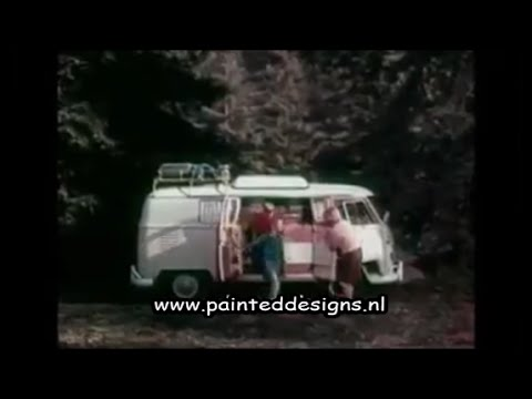1960's vw bus commercial