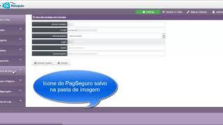 Painel Admin do Fluxshop Loja Virtual Com Novo Visual