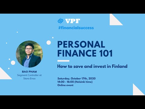 Personal Finance 101: How to save and invest in Finland