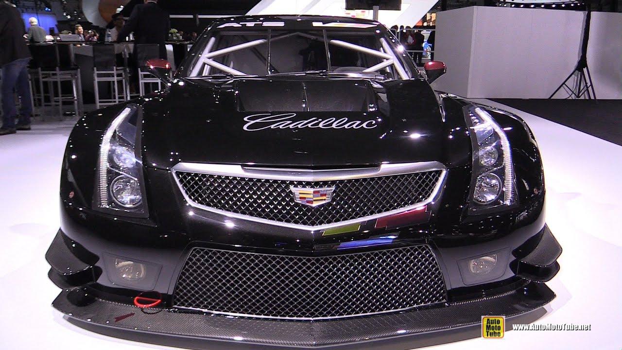 2018 Cadillac Ats >> 2015 Cadillac ATS-V R Coupe GT3 Race Car - Exterior Walkaround - 2014 LA Auto Show - YouTube