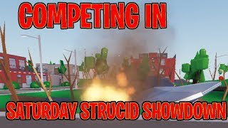 🔴 Competing in the Strucid Saturday Showdown | Roblox Strucid