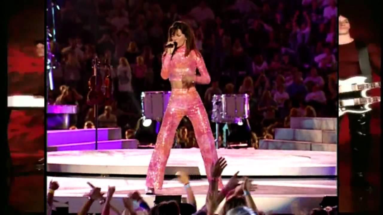Download Shania Twain - Man! I Feel Like A Woman - HD Video Live