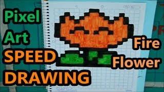 Como Densenhar Uma Flor Pixel Art From Youtube The Fastest