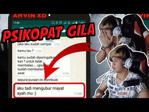 PSIKOPAT MEMBUNUH AYAH DAN ANAK!! CHAT HISTORY HOROR INDONESIA