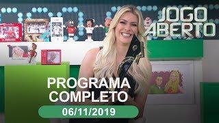 Jogo Aberto - 06/11/2019 - Programa completo