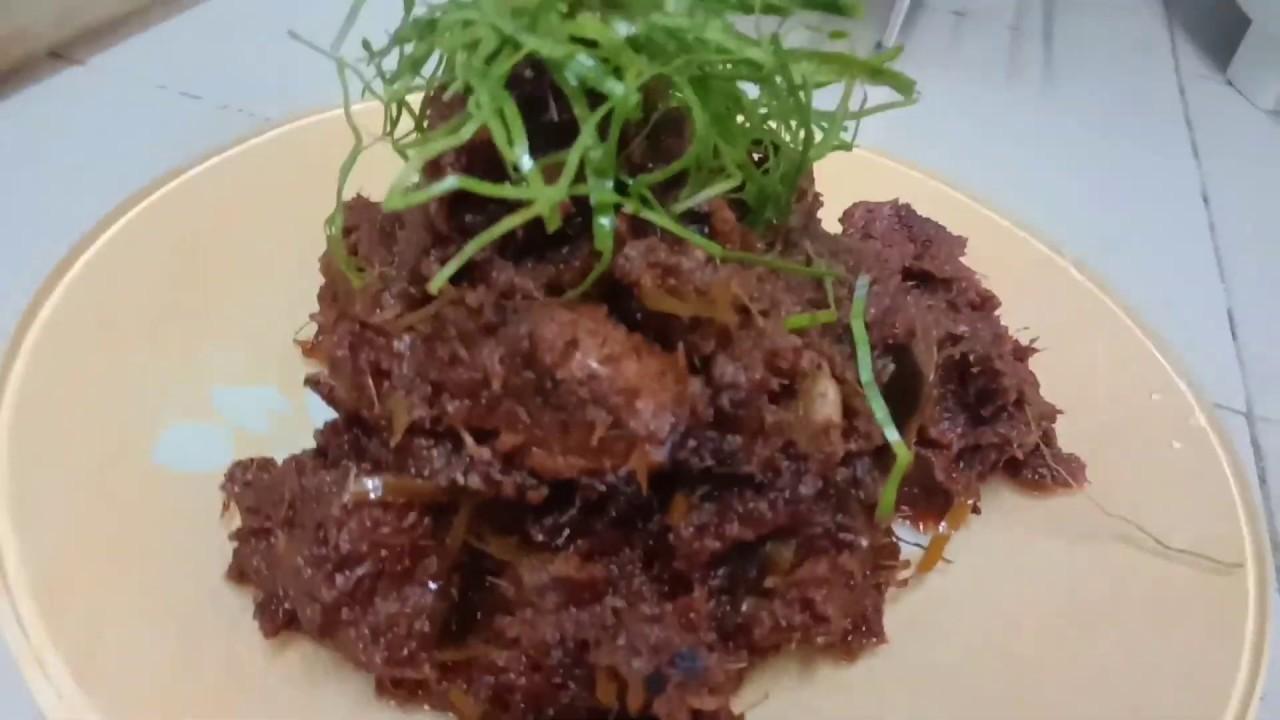 resepi rendang ayam tok resepi rendang tok recipe cooking recipes recipes halia Resepi Rendang Ayam Limau Purut Enak dan Mudah
