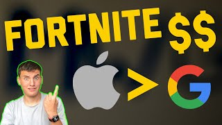 Fortnite Stoping THE APP STORE TAX