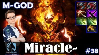 Miracle - Shadow Fiend MID | M-GOD | Dota 2 Pro MMR Gameplay #38